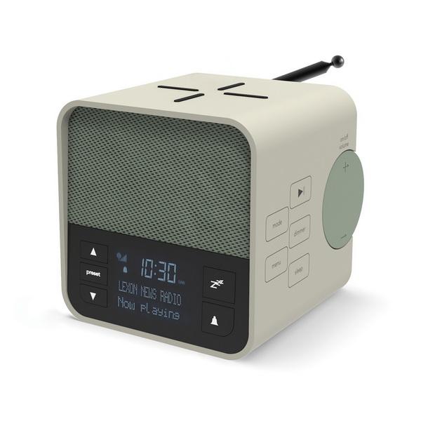 image Le radio réveil 3-en-1 inspiré par le design scandinave