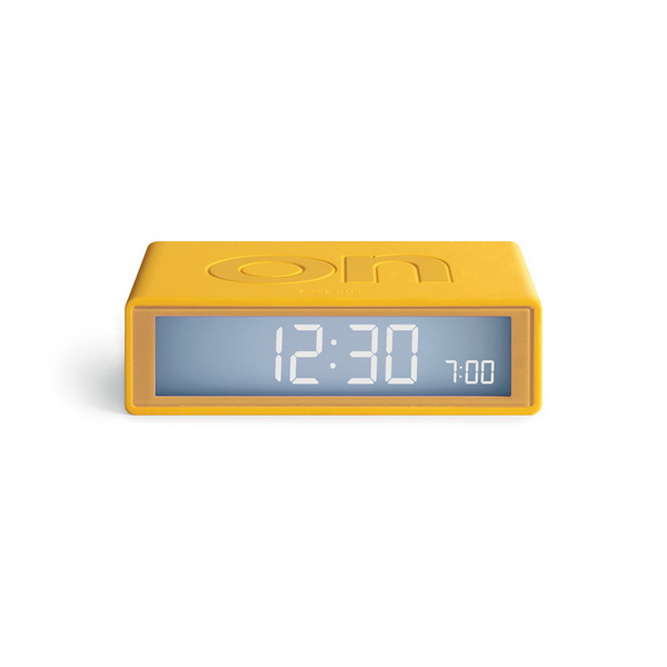 image Our iconic alarm clock, in travel size