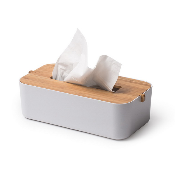 image A stylish and eco-friendly tissue box