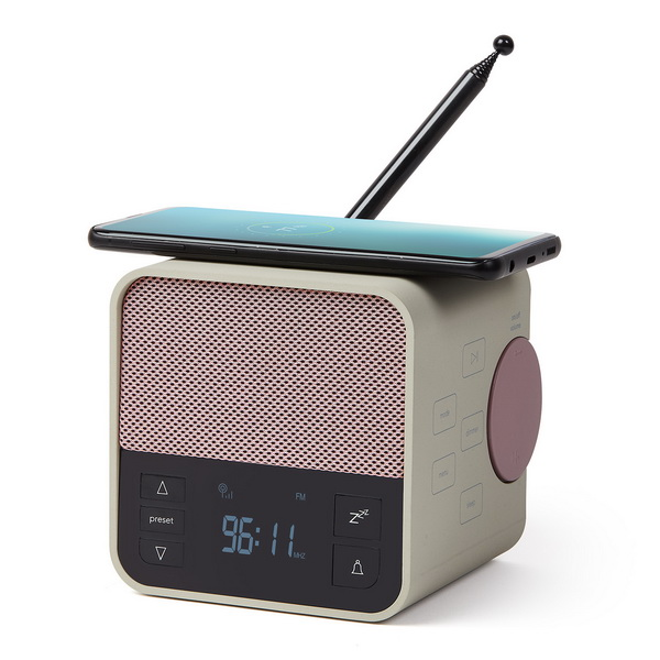 image A 3-in-1 clock radio like no other